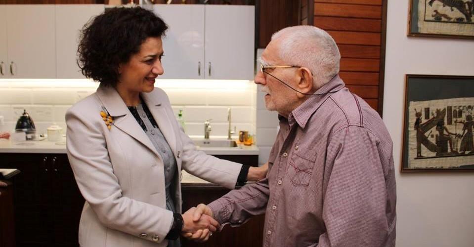Աննա Հակոբյանն այցելել է Արմեն Ջիգարխանյանին (լուսանկարներ)