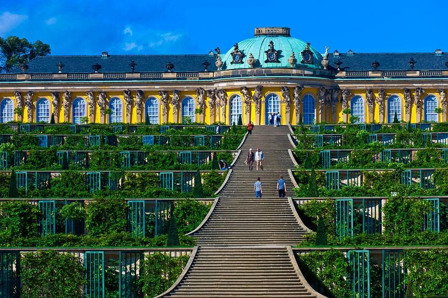 Գերմանիա, Պոտսդամ, Sanssouci պալատ