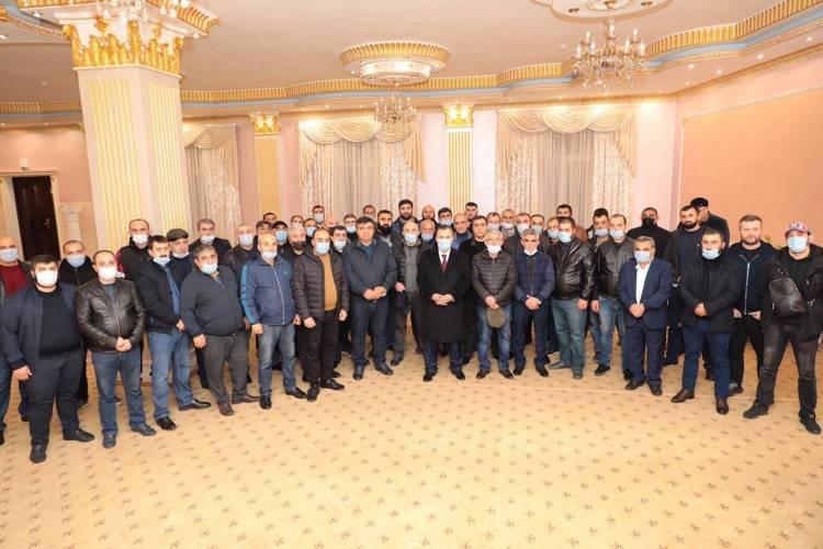 Ջավախքի համայնքների մոսկվայաբնակ հայ ներկայացուցիչները հանդիպում ունեցան Մոսկվայի հայ համայնքի նախագահ, ծնունդով ջավախքցի Նորայր Թևանյանի հետ