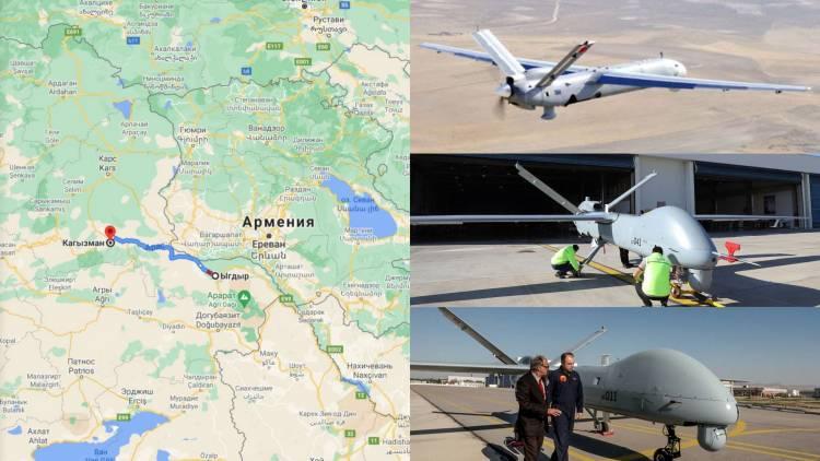 Հայաստանի շուրջ թռչող ադրբեջանական ԱԹՍ-ների մի մասը կառավարվում է Իգդիրից ու Կաղզվանից.հենց սա էլ ապահովում է ադրբեջանական զինված ուժերի վստահ տեղաշարժը